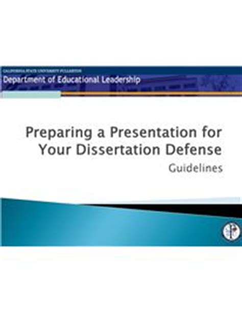 Thesis defence rsm